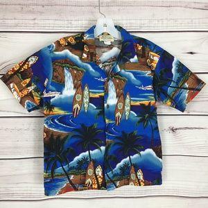 Royal Hawaiian Creations Button Front Shirt